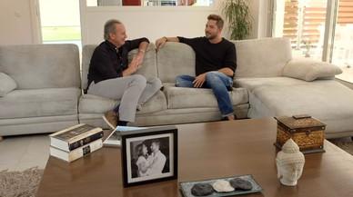 Bertín Osborne y David Bisbal, en 'Mi casa es la tuya'.