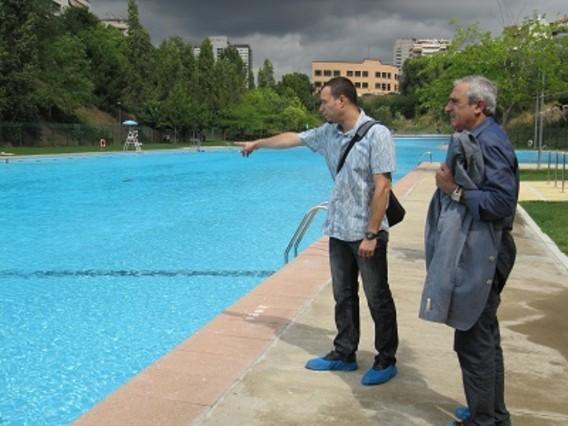 Los usuarios de las piscinas de terrassa caen un 11 for Piscinas municipales barcelona