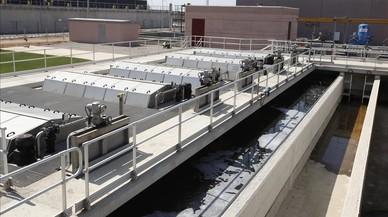 Barcelona beurà aigua reciclada a la depuradora del Prat