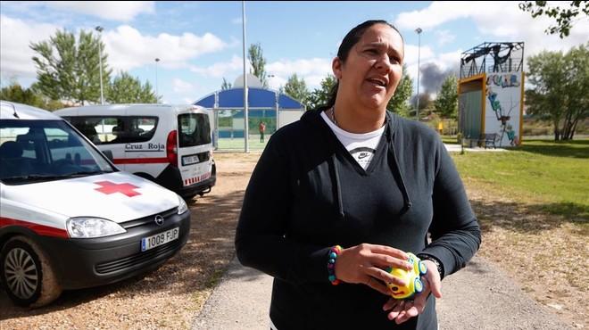 """""""Vaig venir a Seseña perquè tinc al·lèrgia la contaminació"""""""