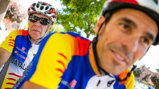 """Joan Josep Artero: """"La bicicleta �s la nostra arma per tocar les conci�ncies"""""""