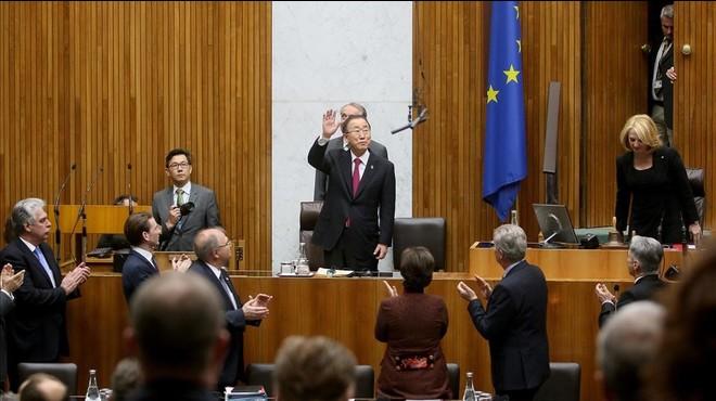 L'ONU i Brussel·les expressen preocupació per la tanca a Àustria contra la immigració