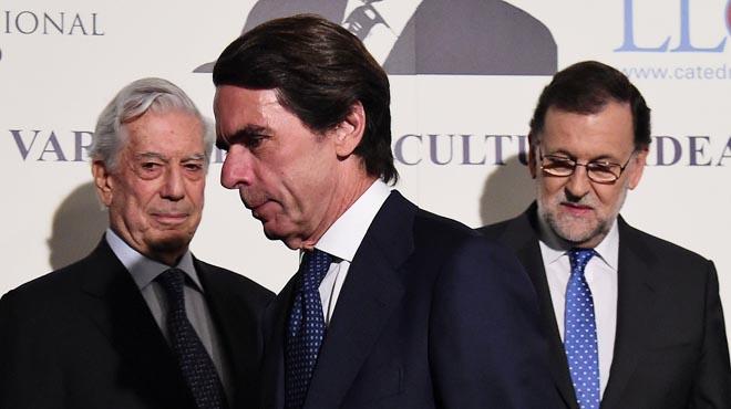 Aznar prescindeix de Rajoy en els cursos d'estiu de FAES