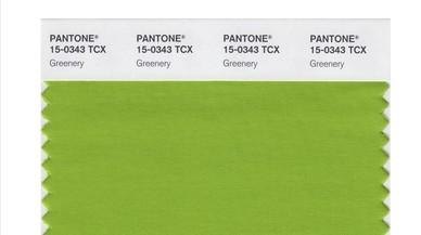 El verde elegido por el instituto Pantone como color del 2017
