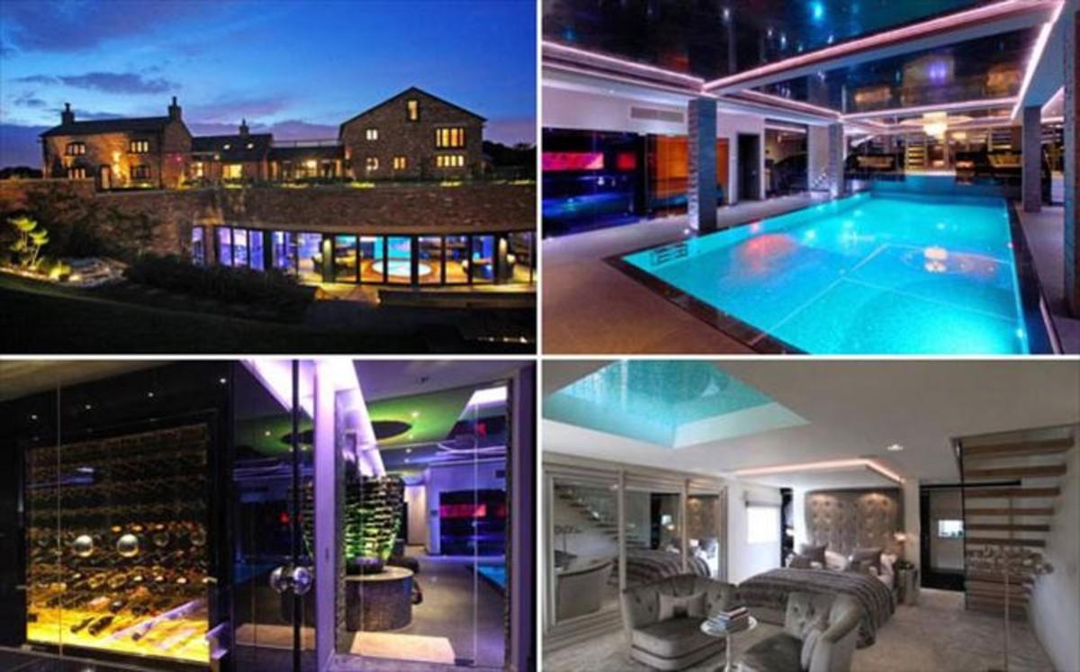 Nasri pone en venta su espectacular casa de manchester por - Discoteca in casa ...