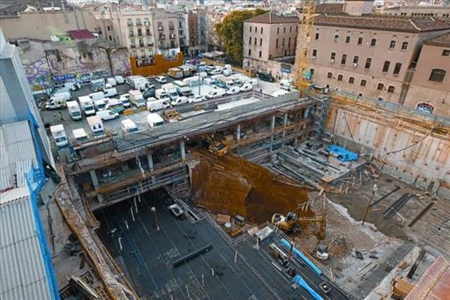 Los vecinos hartos de las obras de la plaza de la gardunya - Calle boqueria barcelona ...