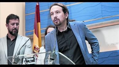 """Iglesias afirma que """"hay cuatro nacionalidades"""" en España, entre ellas la catalana, la vasca y la gallega"""