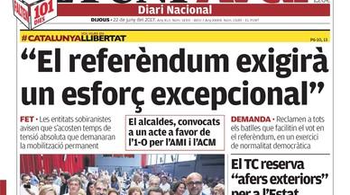 La banca estrangera no finançarà una Catalunya que s'independitzi a la brava, explica 'Abc'