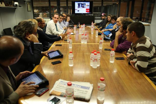 EL PERIÓDICO presenta e-Periódico a un grup de destacats internautes