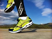 Un 'runner' se pone en forma al aire libre.