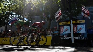El Tour s'alegra amb el xou de Sagan a Berna