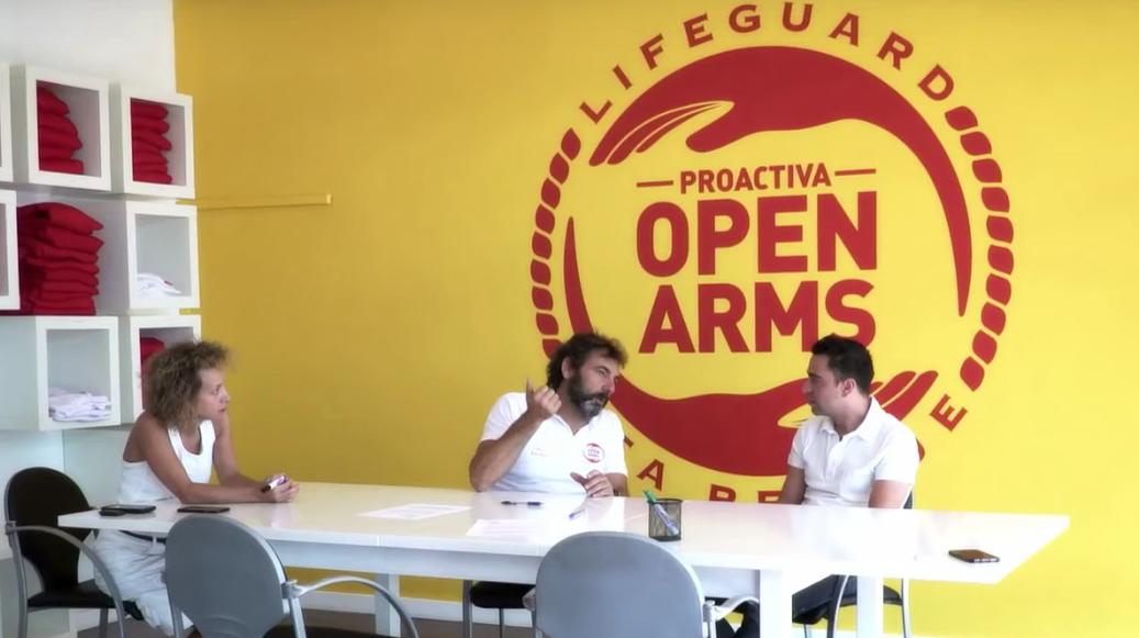 Xavi Hern�ndez dona su yate a la ONG Proactiva Open Arms.