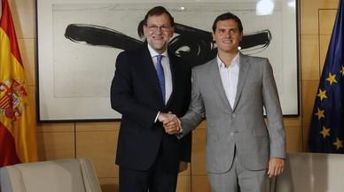 Rajoy i Rivera es veuen aquest dimarts a la Moncloa per fer front comú a sobiranistes