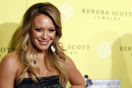 Hilary Duff, en un acto en Beverly Hills, el pasado miércoles.