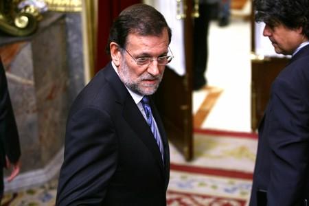Mariano Rajoy durante la sesión de control del Gobierno
