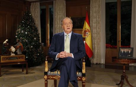 El Rey, en el mensaje de Navidad del año pasado.