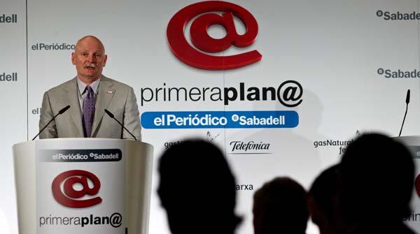 Hoffman compara la Barcelona del futuro con Silicon Valley