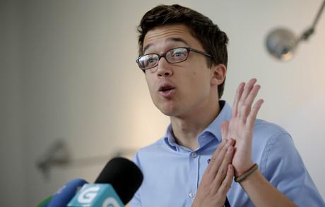 El secretario pol�tico de Podemos, ��igo Errej�n.