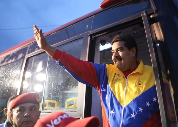 El presidente de Venezuela, Nicolás Maduro, el pasado 12 de febrero en Caracas.