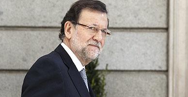 Mariano Rajoy, esta semana en Madrid.