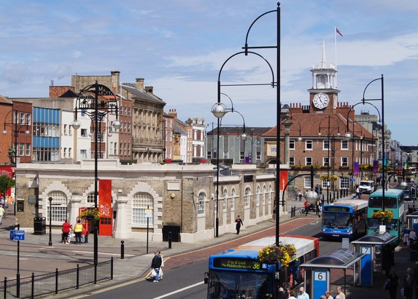 Stockton-On-Tees, (Reino Unido), la ciudad natal de John Walker