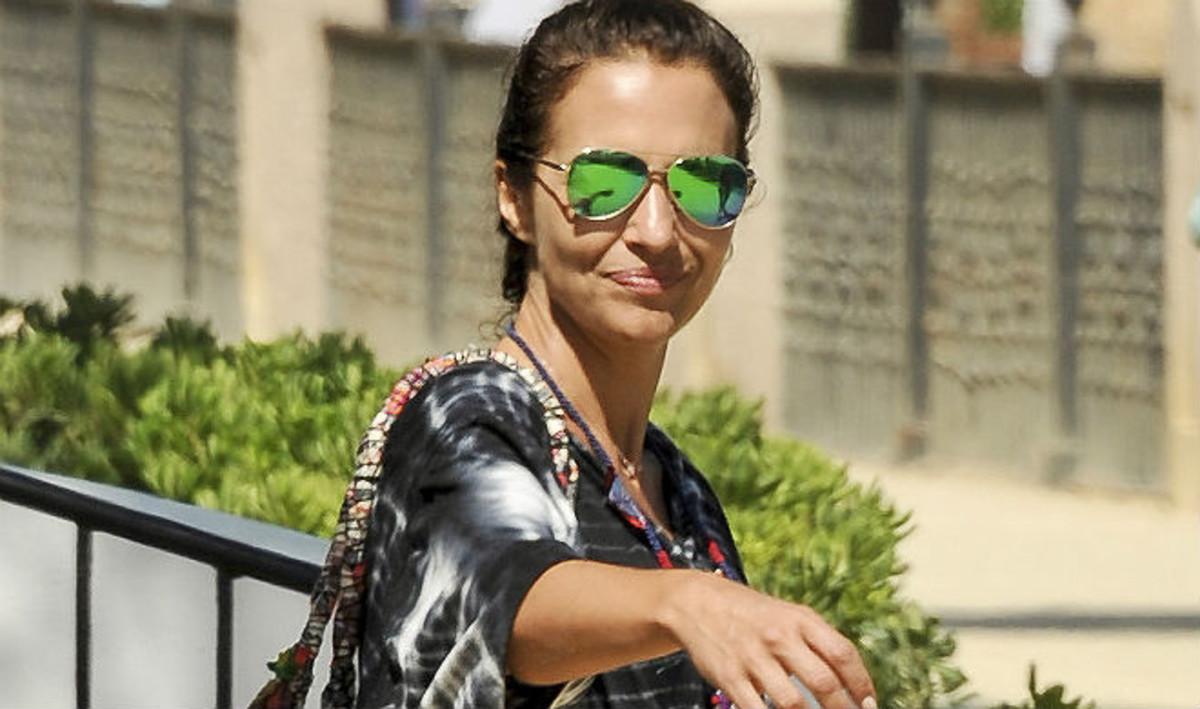 Paula Echevarría, el pasado día 9 en Marbella.