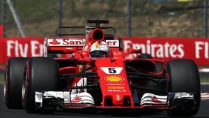 Sebastian Vettel, el más rápido en la sesión de hoy de los tests en Hungaroring