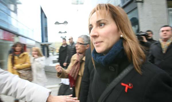 La alcaldesa de Montcada i Reixac declara ante el juez por el 'caso Mercuri'.