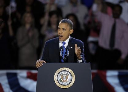 Barack Obama gana las elecciones de EEUU