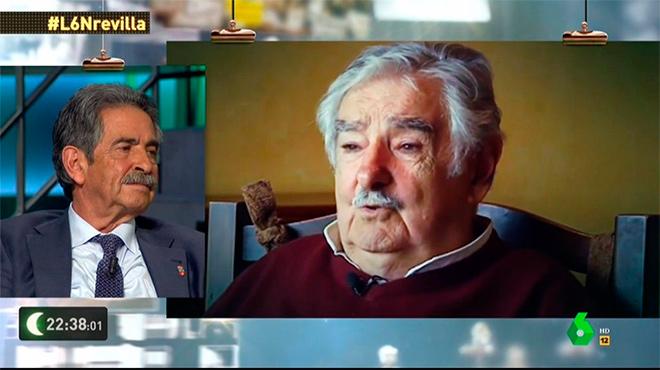 Miguel Ángel Revilla y Pepe Mujica: tres dias en Cantabria ('La Sexta noche').