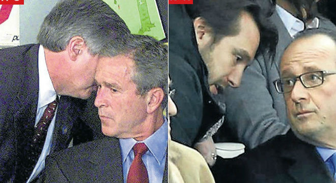 Hollande recorre al manual de Bush 14 anys després