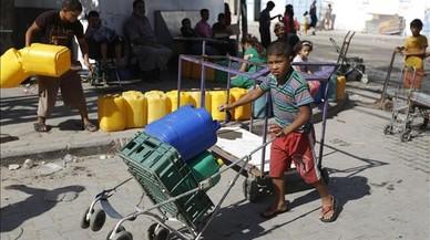 Palestina pateix severes restriccions d'aigua