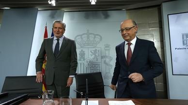 """El Govern veu com un exemple de """"sarcasme"""" que la Generalitat demani """"diàleg"""" després de les """"desobediències"""""""