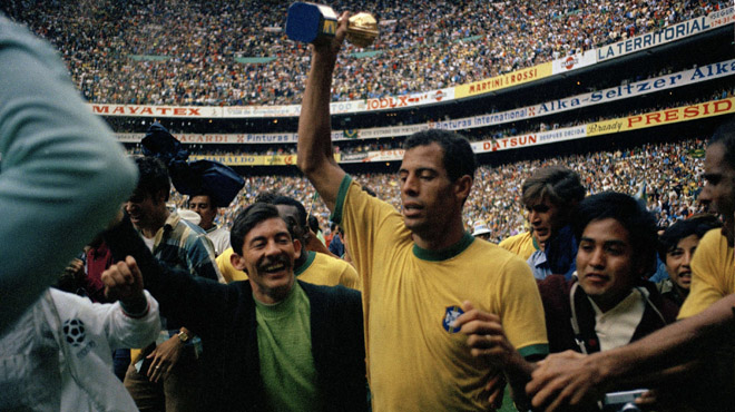 Fallece Carlos Alberto, el capit�n de la seleccion de Brasil 1970