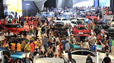 El Saló de l'Automòbil tanca amb rècord de visitants