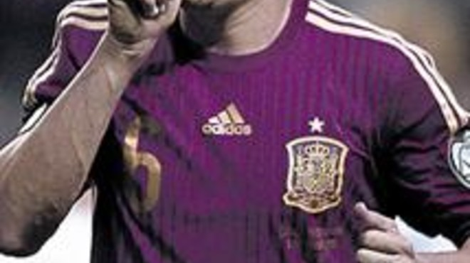 Iniesta lidera el repte de l'Eurocopa