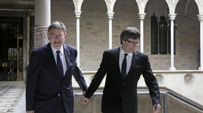 Catalunya i València acceleren en el desglaç de relacions