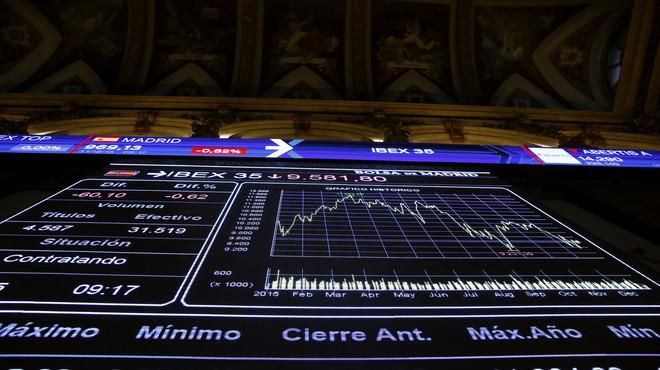 L'Ibex tanca el 2015 amb una caiguda anual del 7,15%