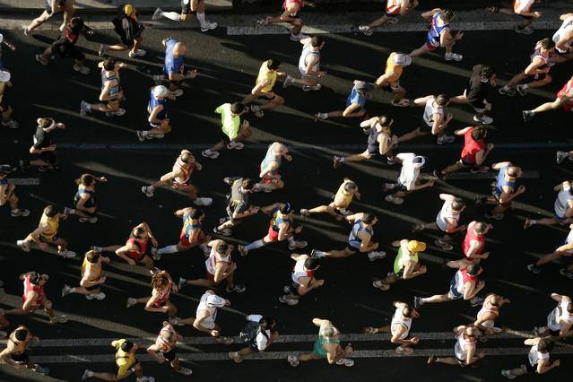 El marat�n de Barcelona se celebra este domingo con 1.000 participantes menos