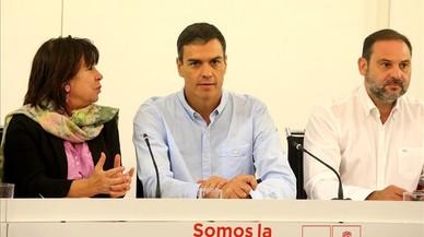 El PSOE ata el apoyo del Congreso a la comisión para el encaje de Catalunya