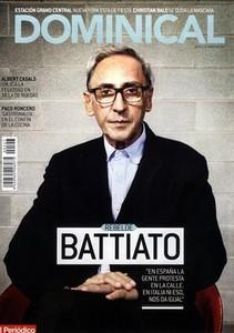 """Franco Battiato: """"En España la gente protesta en la calle. En Italia ni eso, nos da igual"""""""