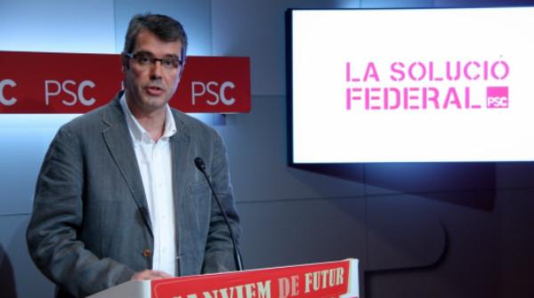El PSC renova la seva fe en el federalisme malgrat la sagnia