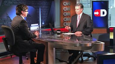 """Puigdemont, en la CNN: """"Queremos reentendernos con España, no desentendernos"""""""