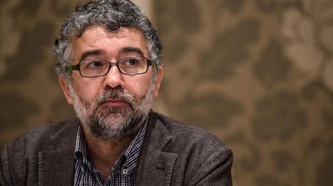 El representante turco de Reporteros Sin Fronteras, Erol Onderoglu, en una imagen de archivo de marzo del 2016.