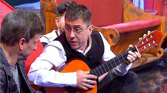 Monedero, guitarrista en TVE
