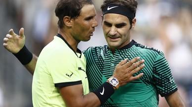 Federer treu l'aire a Nadal