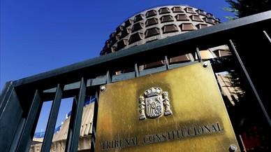 El Constitucional avala les multes als que incompleixin les seves resolucions