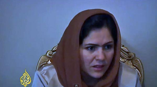 Vídeo en el que se muestra la ejecución de Najiba.