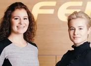 Katharine i Alexandra Andresen: ja arriben les superhereves