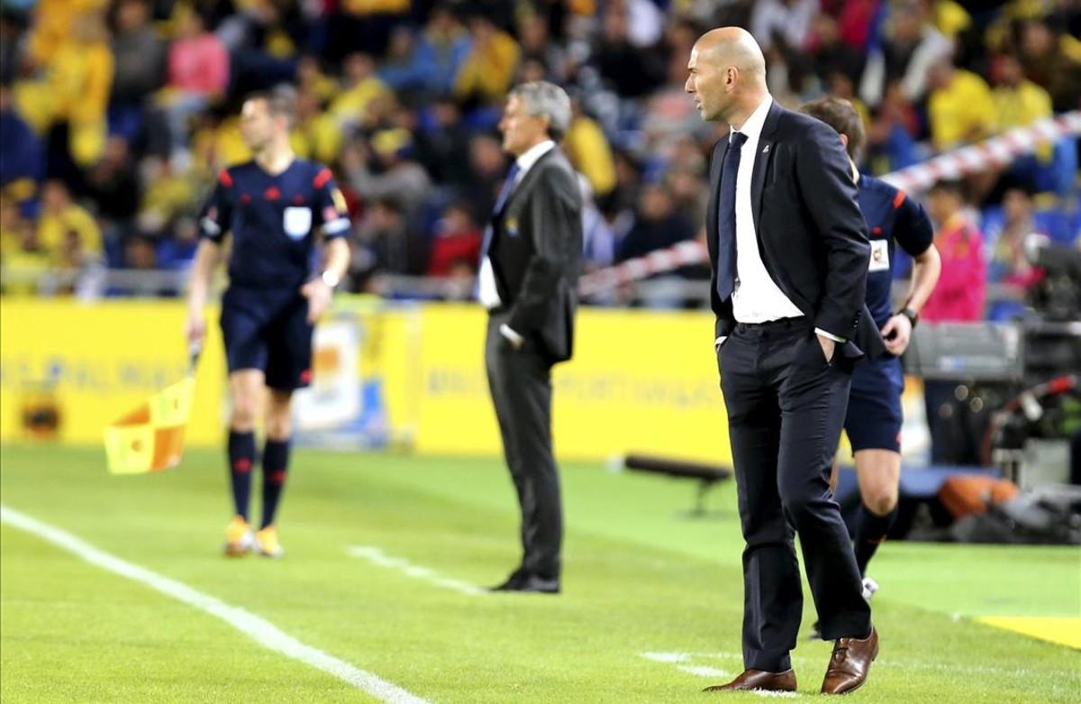 Zidane se asusta ante la magnitud del problema del Madrid